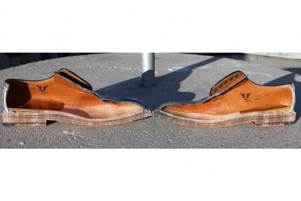 giày tây đế da Marco Alfredo