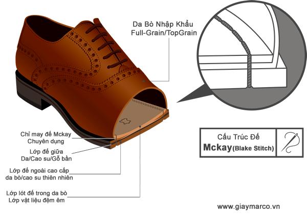 giày đế mckay