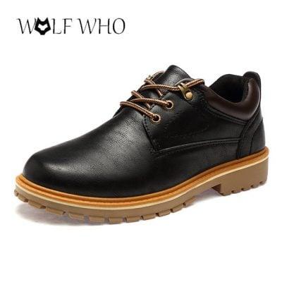 Giày Da Không Phải Giày Tây