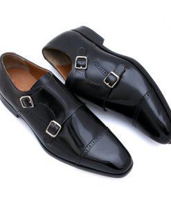 giày tây double monk